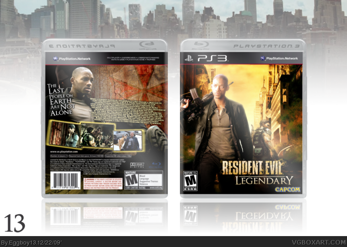 Resident Evil: Legendary box art cover