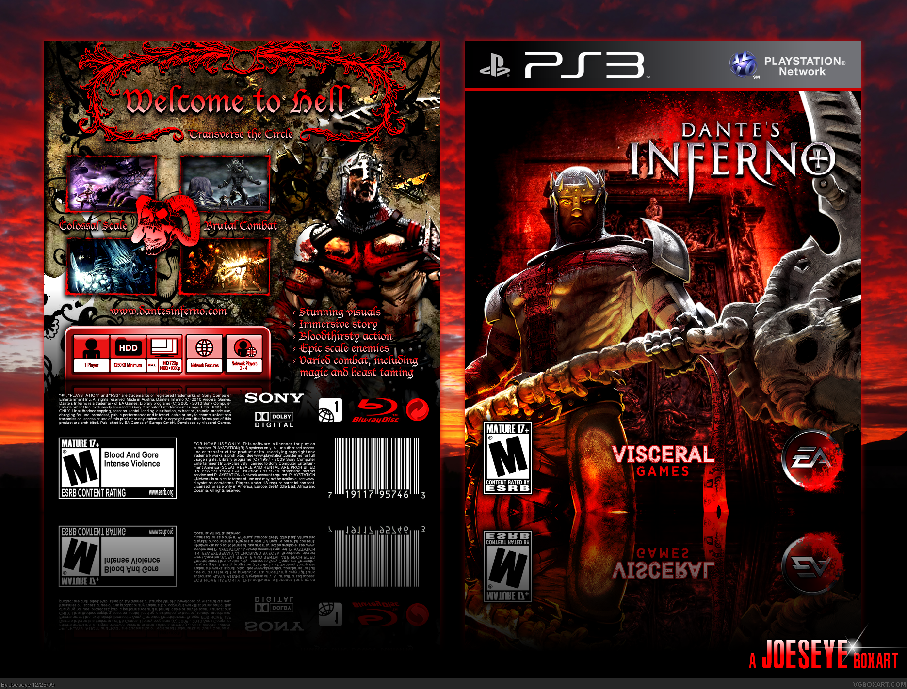 dantes inferno 2 Dante's inferno is a 2010 action video game developed by visceral games and published by electronic arts the game was released for xbox 360, playstation 3, playstation portable in february 2010 the playstation portable version was developed by artificial mind and movement.