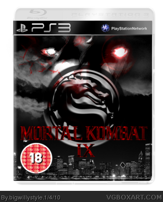 Mortal Kombat 9 box art cover