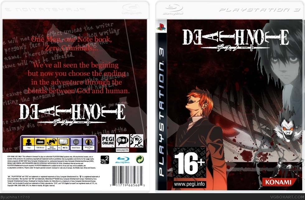 Death Note box cover