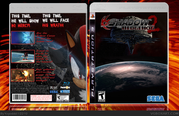 PlayStation 3 » Shadow the Hedgehog 2 Box Cover