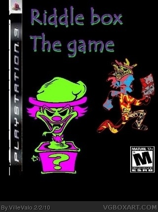 Riddle Box the game icp box cover