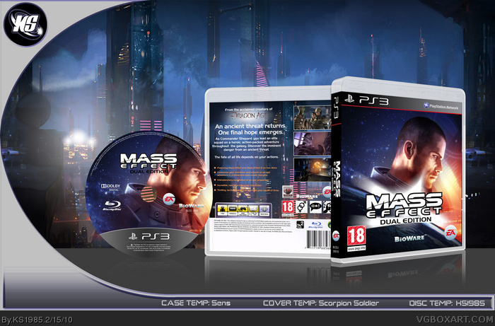 Mass Effect: Dual Edition box art cover
