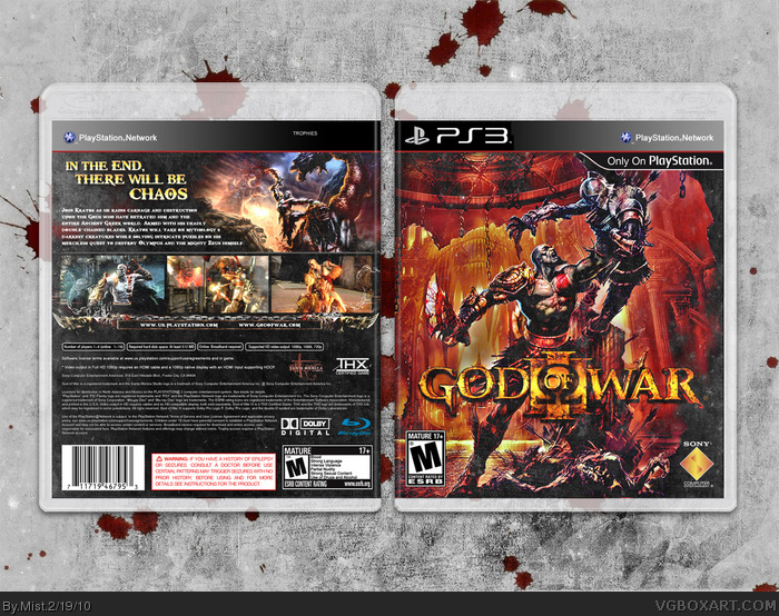 God of War III box art cover