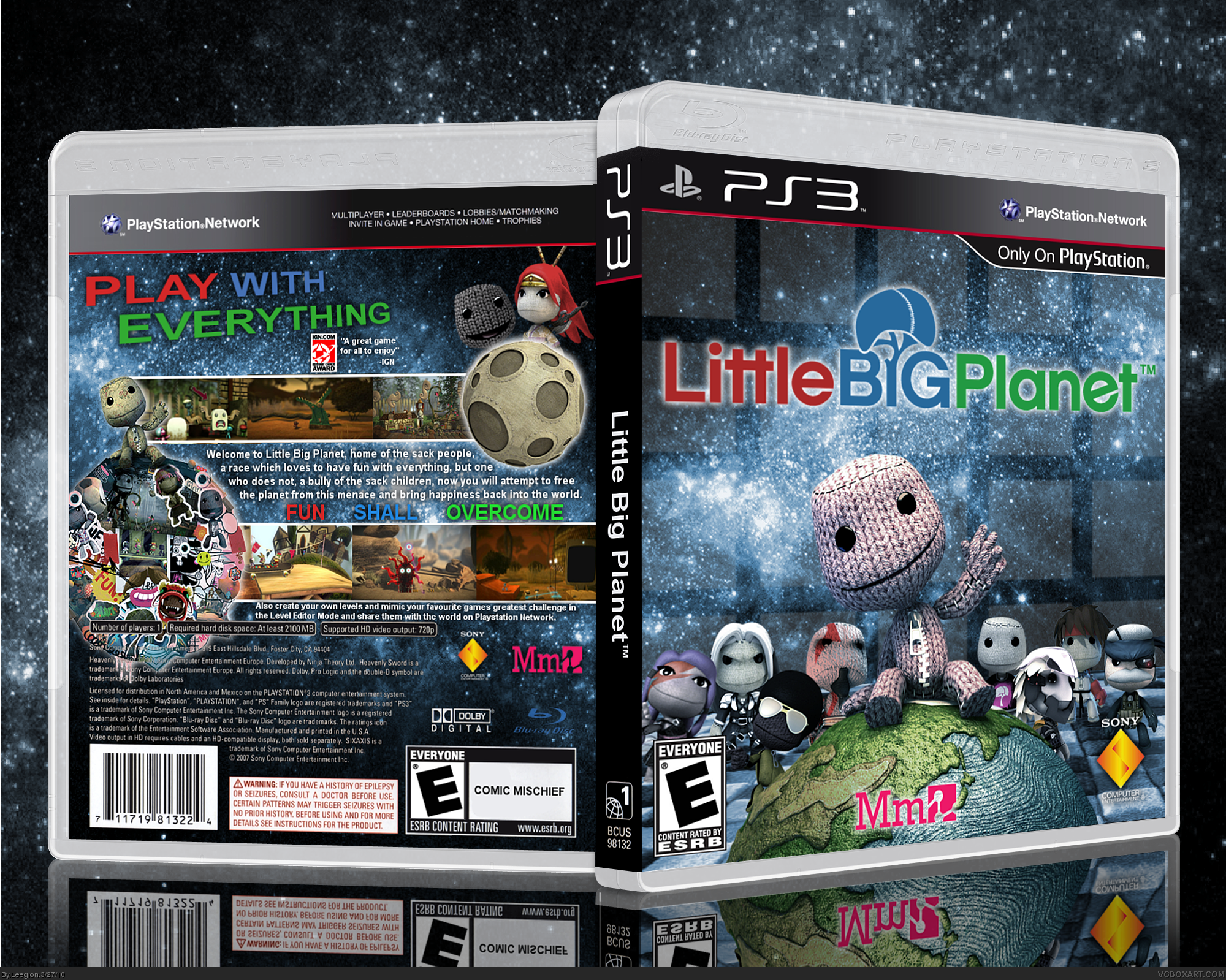 LittleBigPlanet box cover