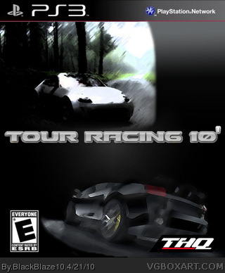 Tour Racing '10 box cover