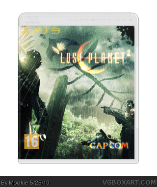 Lost Planet 2 Cover Art