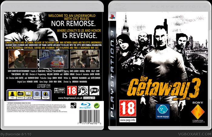 PlayStation 3 » The Getaway 3 Box Cover