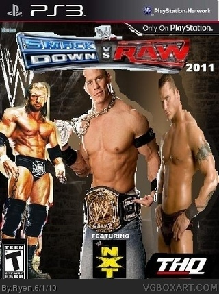 WWE SmackDown vs. RAW 2011 box cover