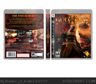 God of War III box cover