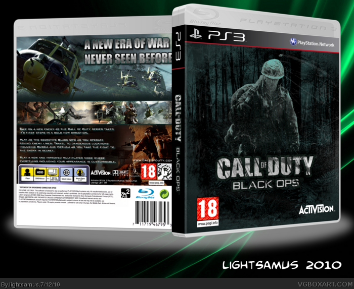 PlayStation 3 » Call of Duty: Black Ops Box Cover
