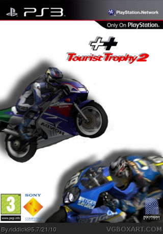 tourist trophy 2 playstation 3 box art cover by riddick95. Black Bedroom Furniture Sets. Home Design Ideas