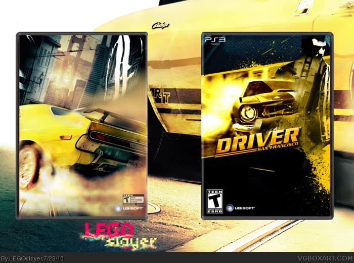 driver san francisco playstation 3 box art cover by. Black Bedroom Furniture Sets. Home Design Ideas