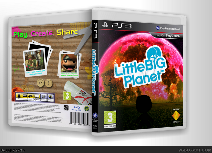 Little Big Planet box art cover