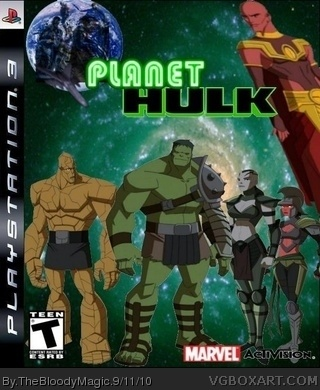 Planet Hulk box cover