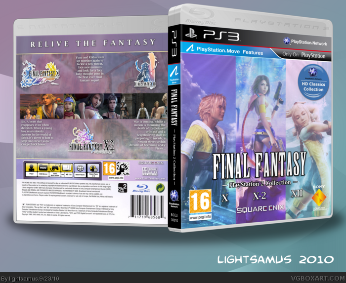 Final Fantasy - PlayStation 2 Collection box art cover