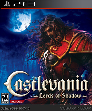 Castlevania : Lords of Shadow box cover