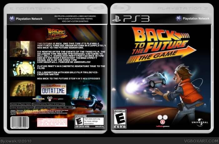 games back future game