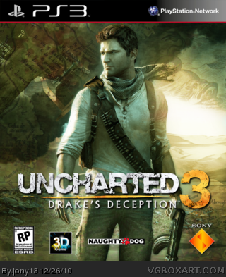 Uncharted 3: Drake's Deception box cover