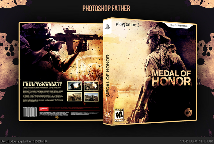 Medal of Honor box art cover