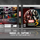 Marvel Vs. Capcom 3: Fate of Two Worlds Box Art Cover