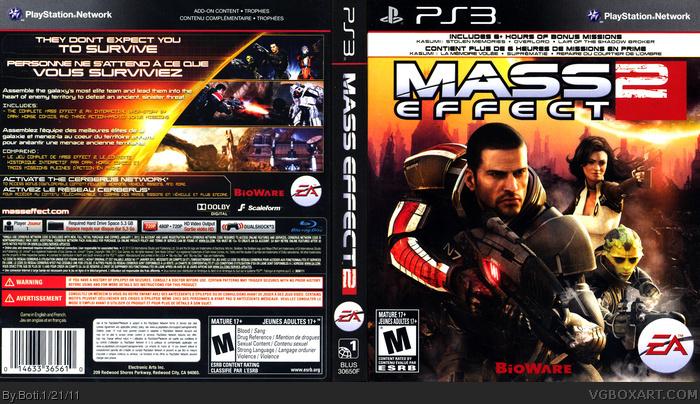 Mass Effect 2.jpg - Официальные обложки на PlayStation 3 - Патчи, дополнени