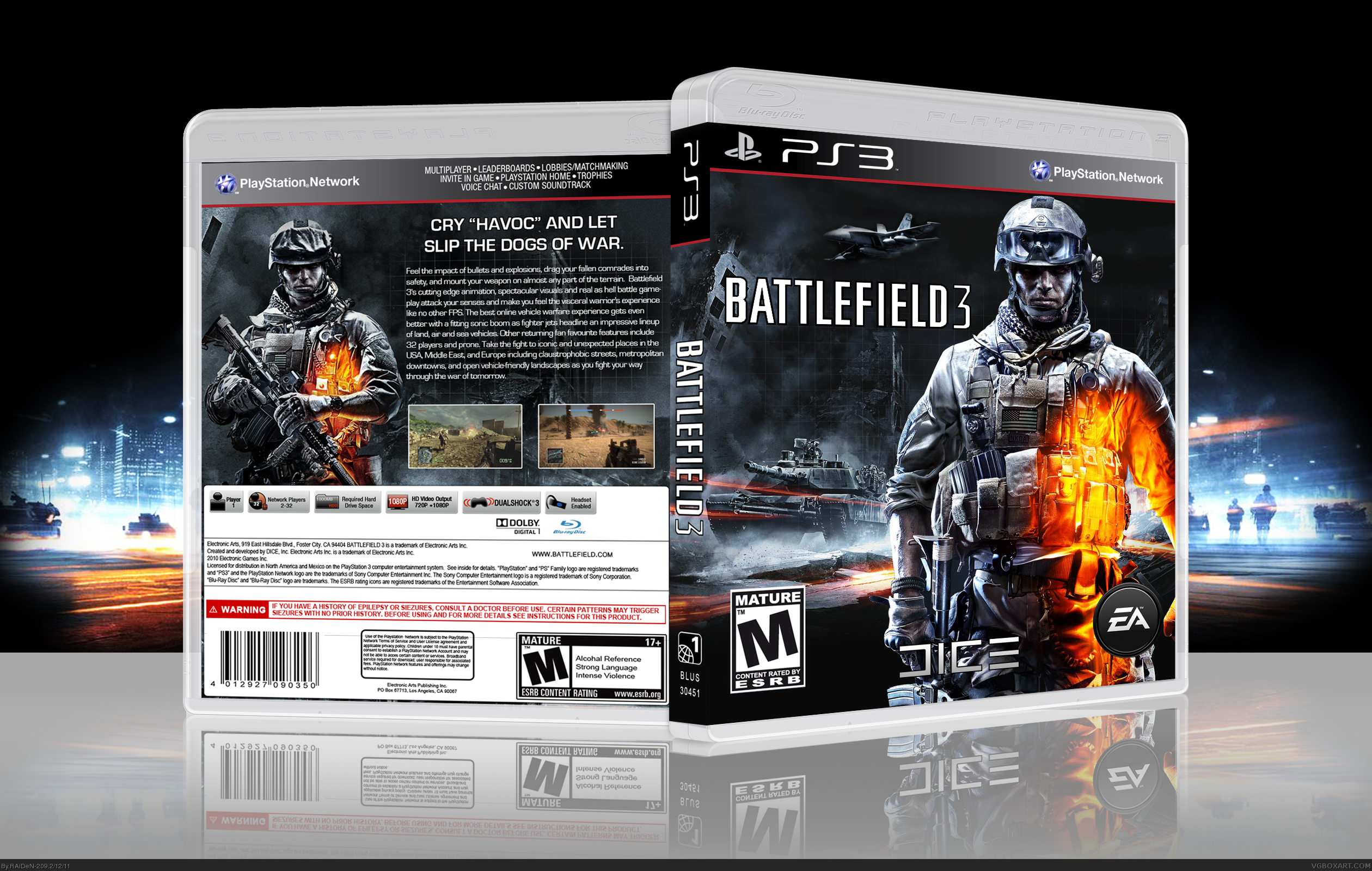 Battlefield 3 Cover Ps3 | www.pixshark.com - Images ...