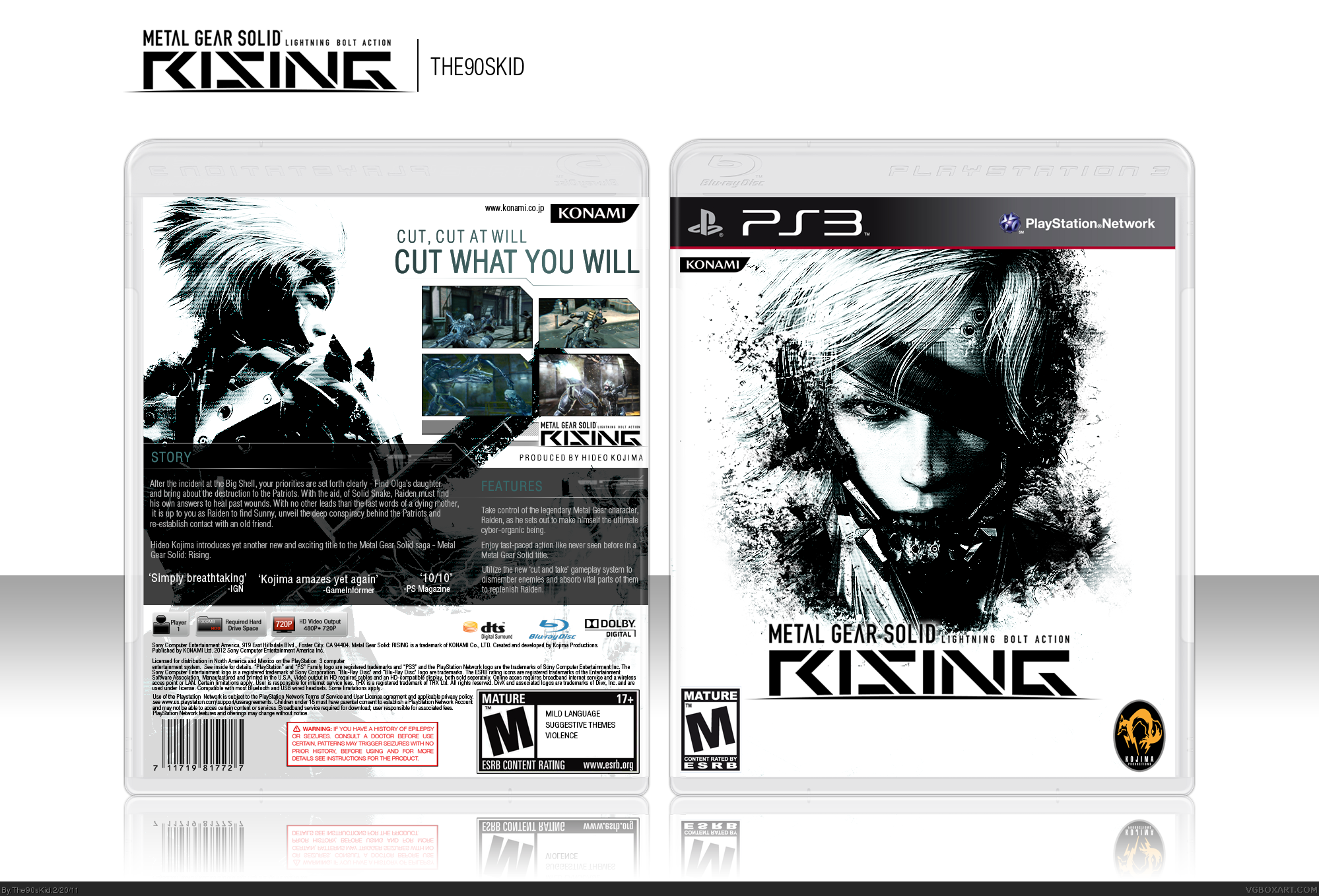 Metal Gear Solid: Rising box cover