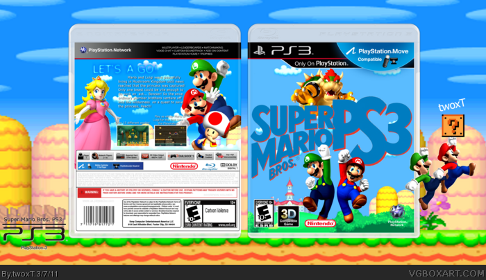 Mario Games For Ps3 : Super mario brothers games playstation