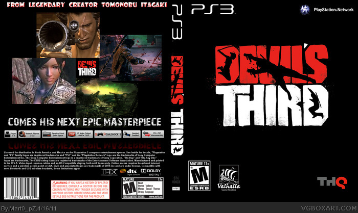 Devil's Third box art cover