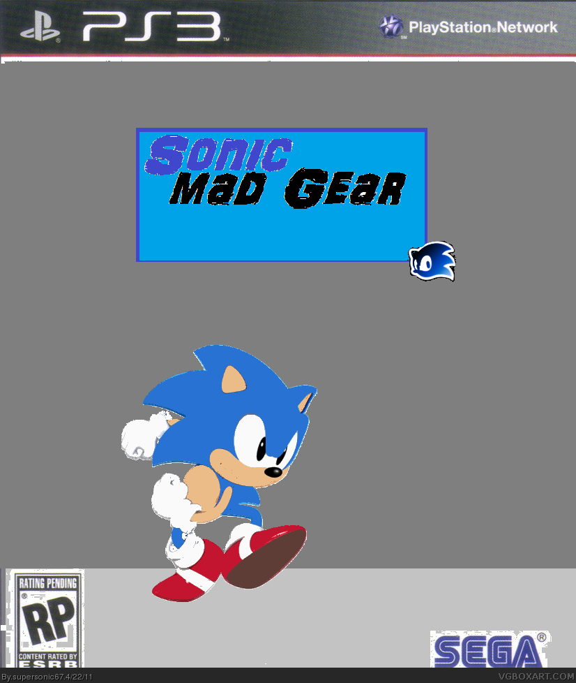 Sonic mad gear box cover
