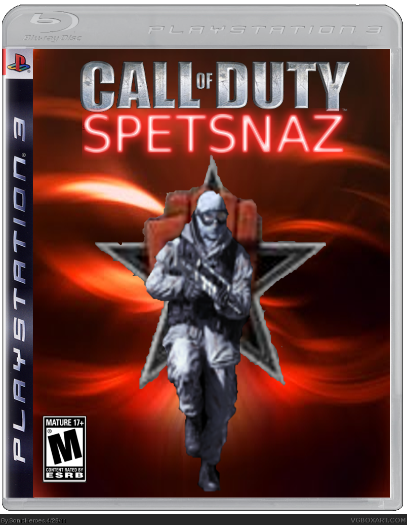Call Of Duty (8): Spetsnaz box cover