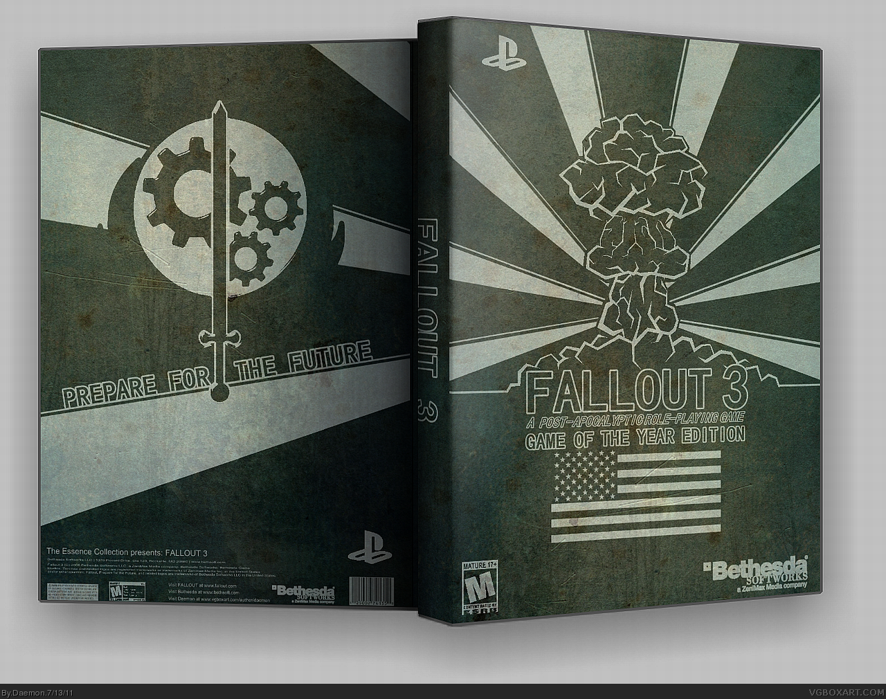 Fallout 3: Game of the Year Edition box cover