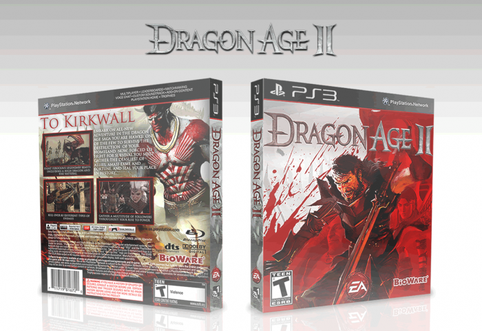 Dragon Age 2 box art cover