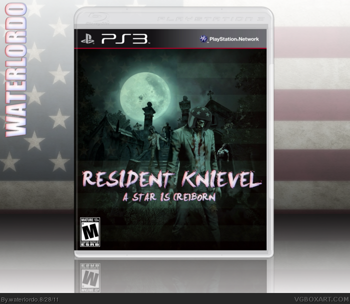 Resident Knievel: A Star is (Re)Born box art cover