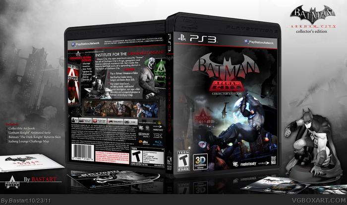 Comics Batman Arkham City Batman Arkham City Collectors