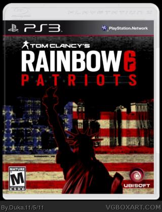 rainbow six patriots xbox 360