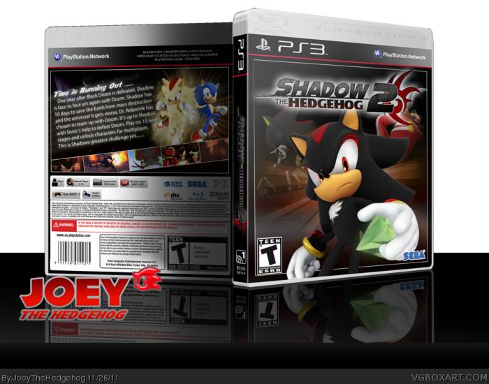 PlayStation 3 » Shadow the Hedgehog 2 Box Cover