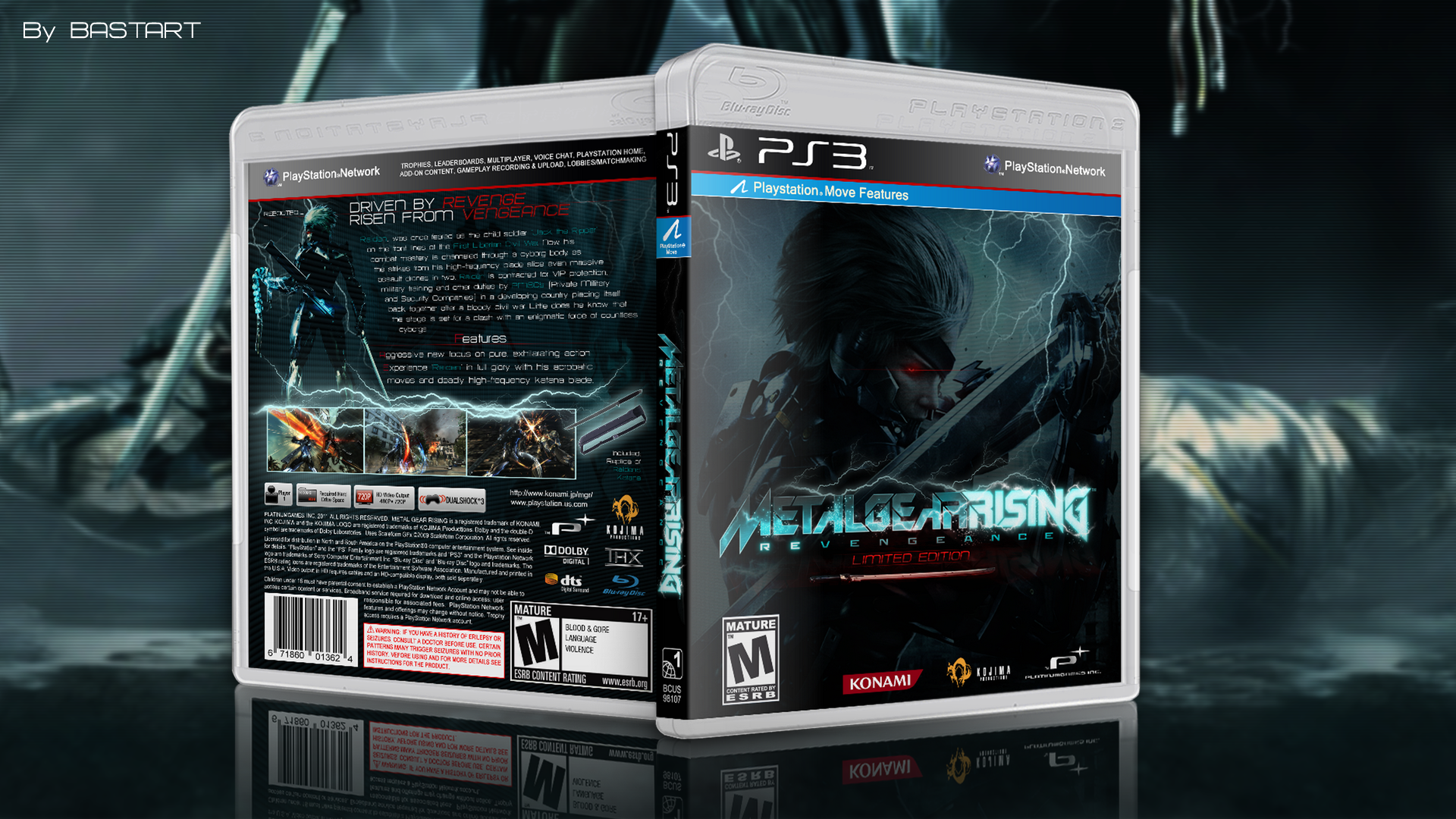 Metal Gear Rising: Revengeance (Limited Edition) box cover