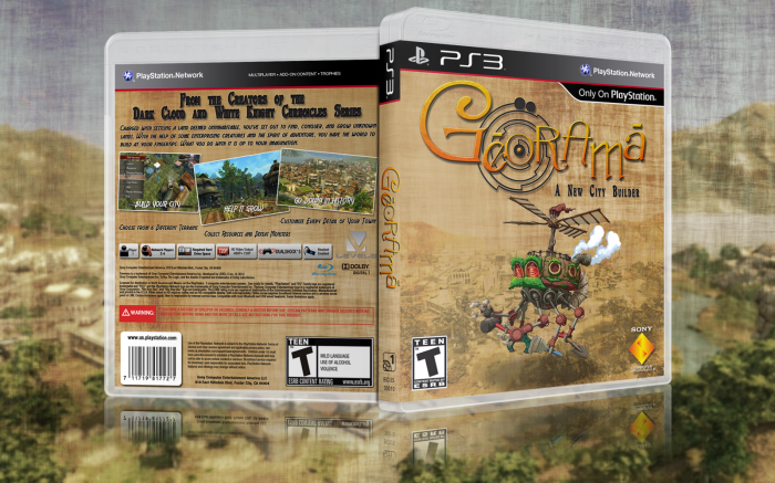 Georama box art cover