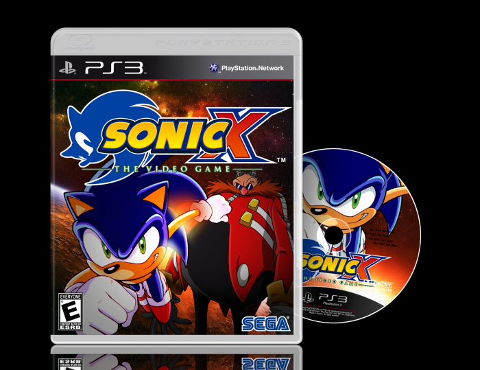 Sonic X: The Video Game box art cover