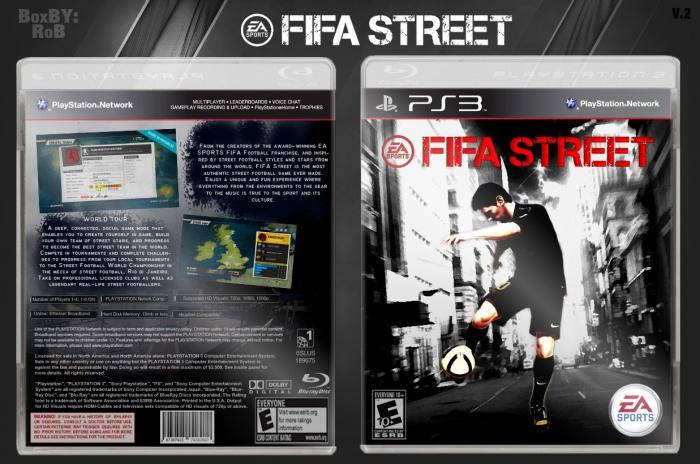 FIFA Street PlayStation 3 Box Art Cover by RoB