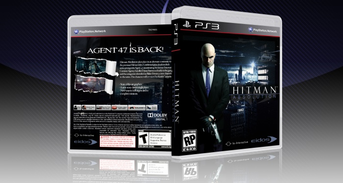 Hitman Absolution Fuse Box : Hitman absolution playstation box art cover by t g tom