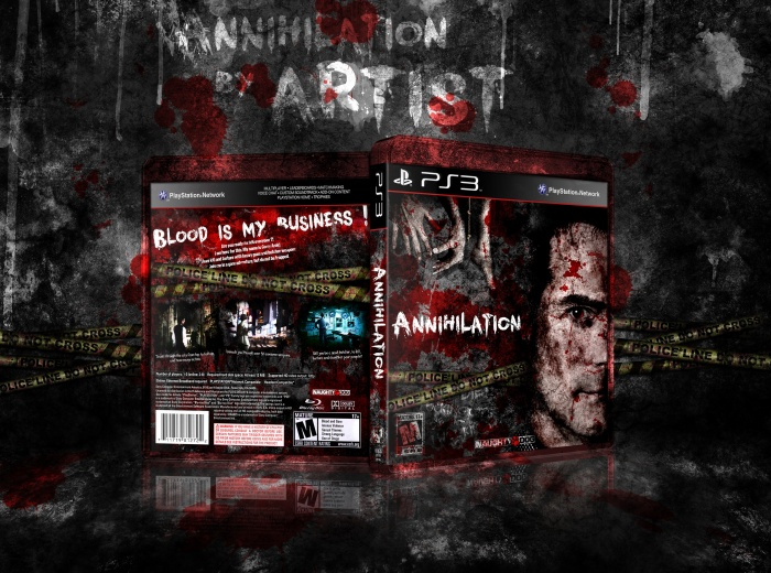 Annihilation box art cover