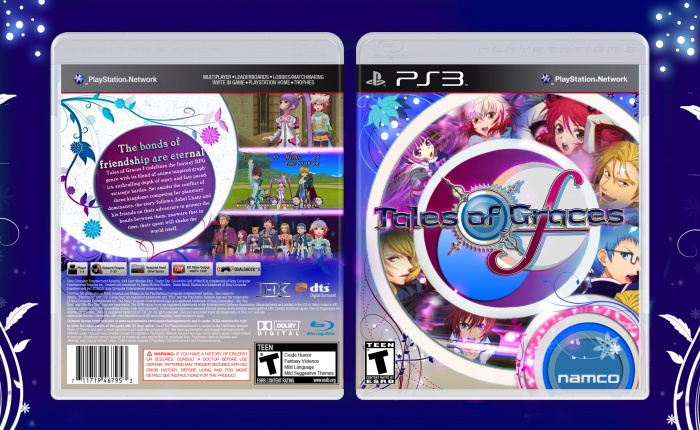 PlayStation 3 » Tales of Graces F Box Cover