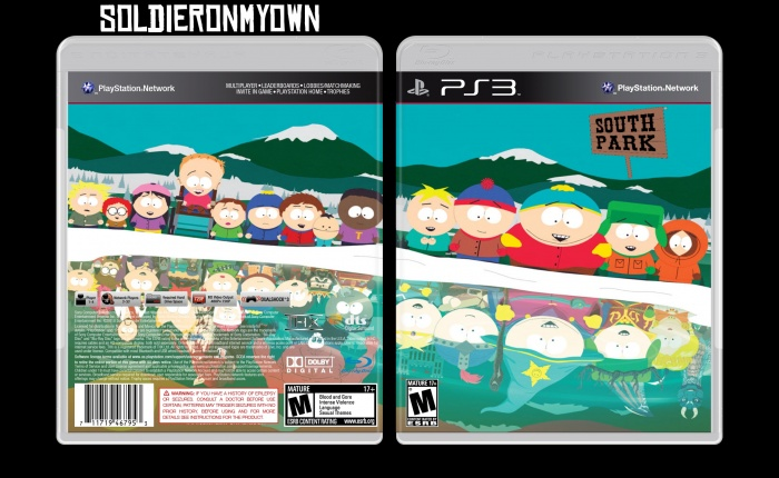 South Park box art cover