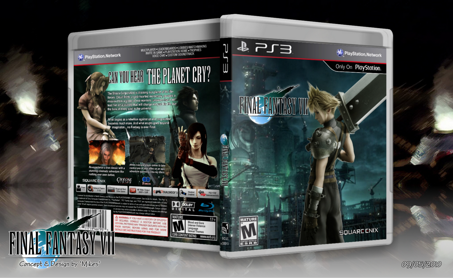 Final Fantasy VII box cover