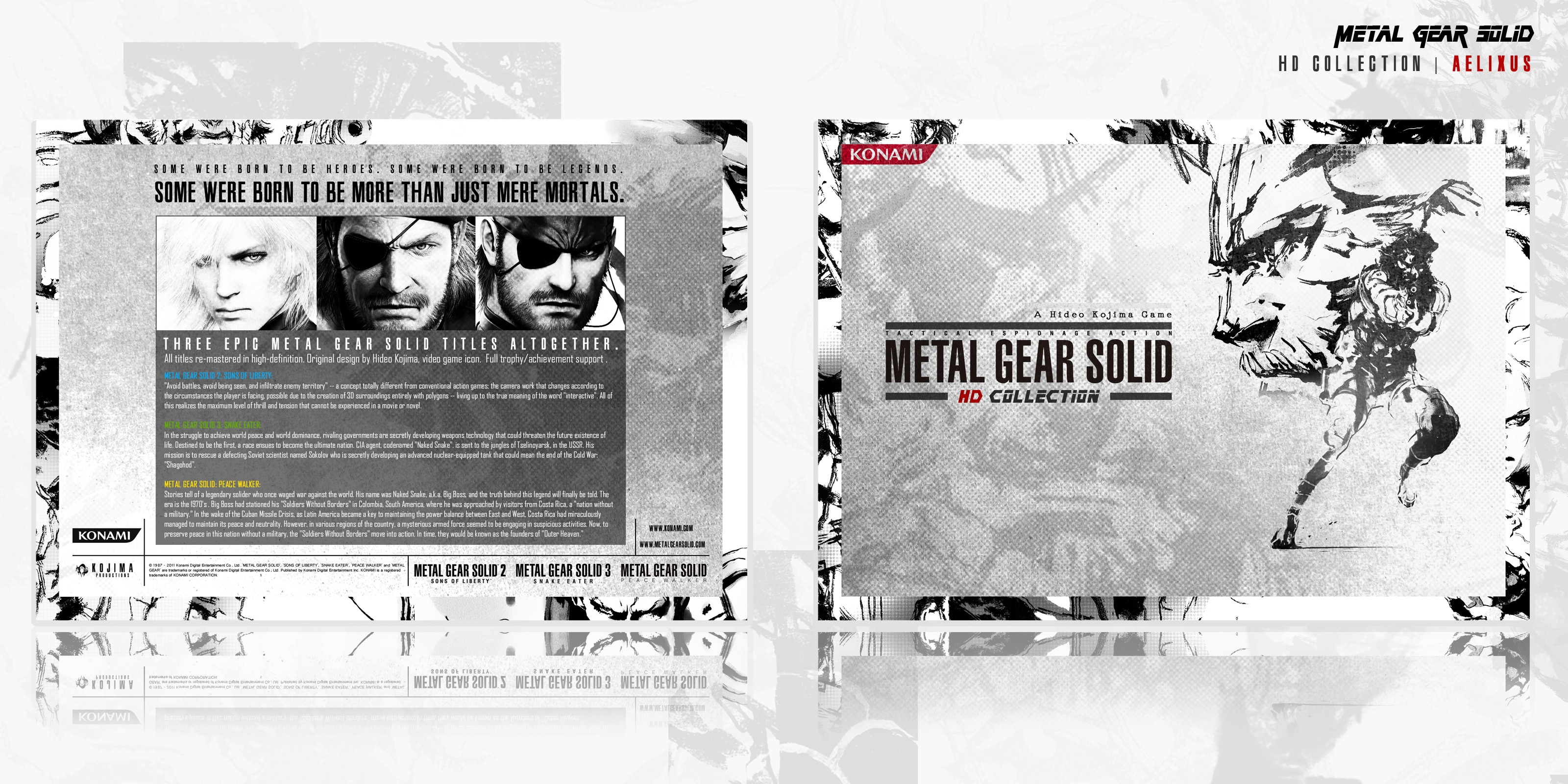 Metal Gear Solid: HD Collection box cover