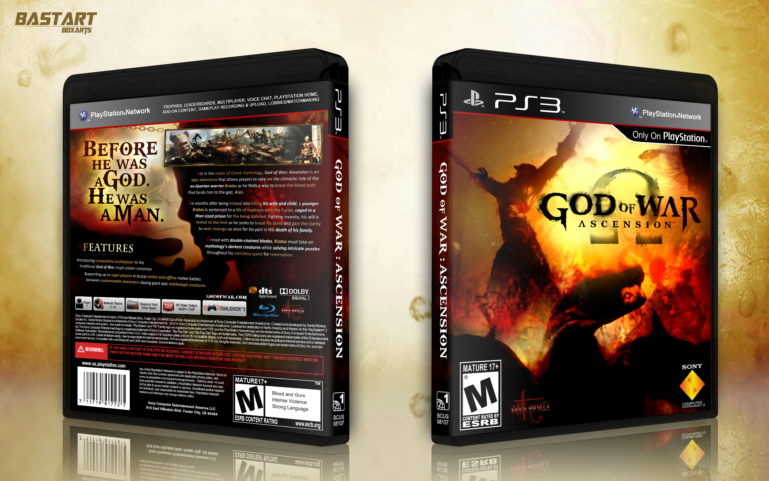 God of War: Ascension box cover