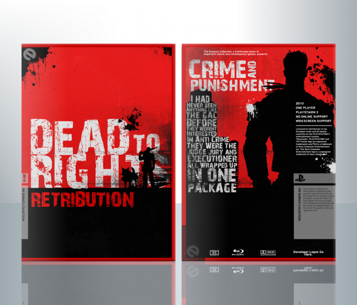 Dead to Rights: Retribution box art cover